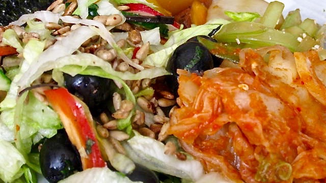Fermented Foods - Macrobiotic Meal with Kimchi