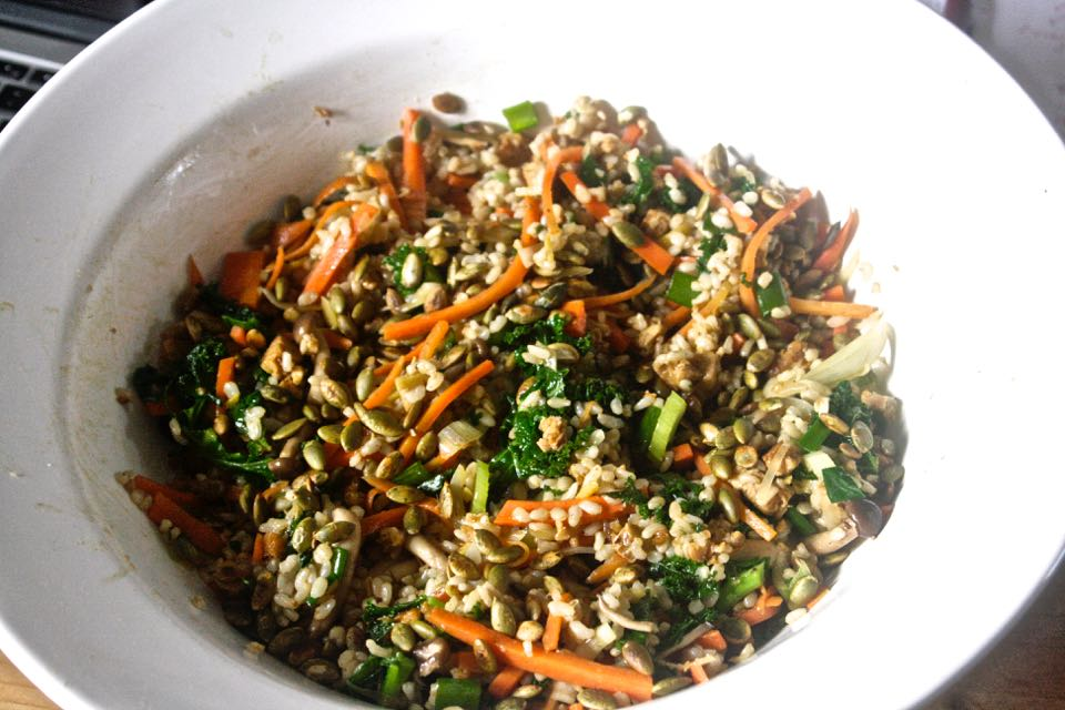 Macrobiotic Oil Stir Fry
