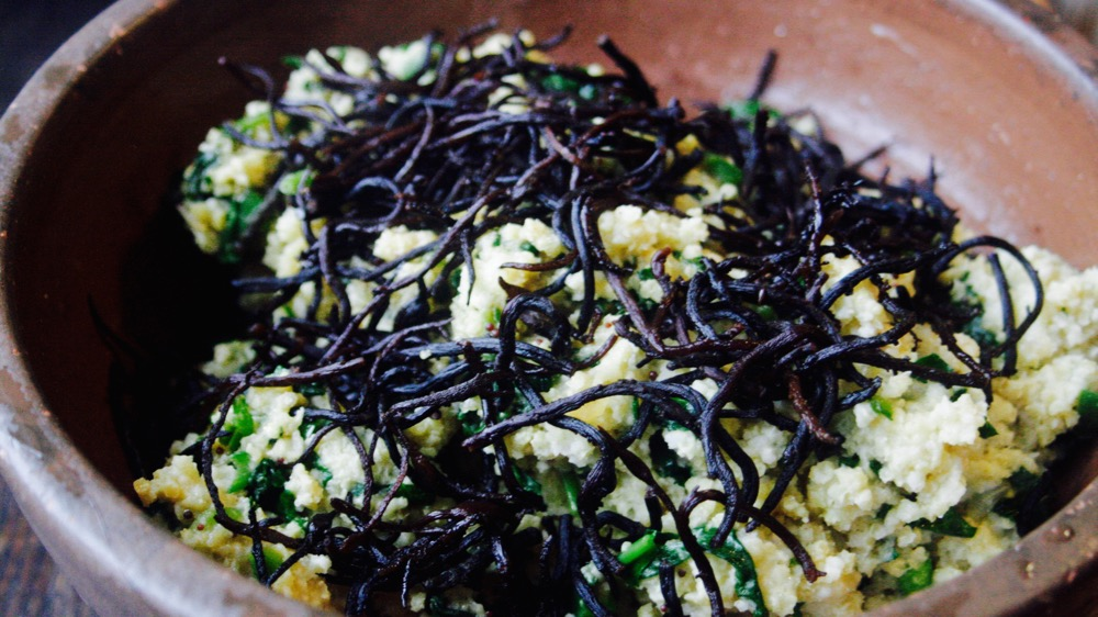 Macrobiotic Sea Vegetables Hiziki and Millet